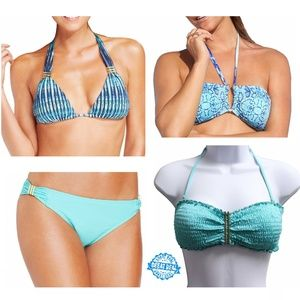 NEW Lot of 4 Bar III Bikini Swimsuit XS